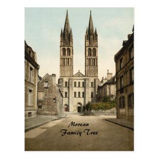 St Etienne Church, Caen, France Postcard
