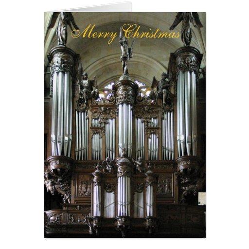 St Etienne-du-Mont organ Tarjetón