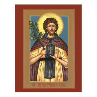 St. Euphrosynos the Cook Prayer Card