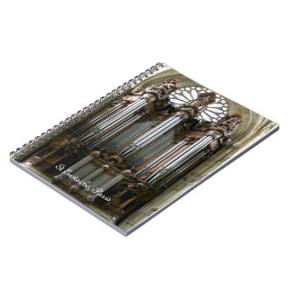 St Eustache organ notebook