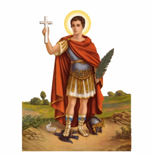 St Expedite Photo Sculpture Zazzle Com
