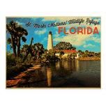St. Faro la Florida de las marcas Postales