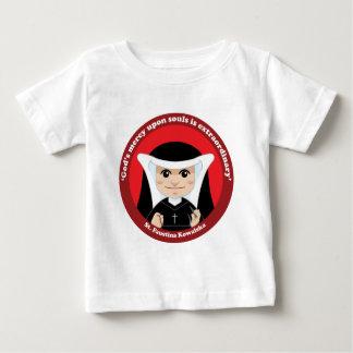 St. Faustina Kowalska Baby T-Shirt