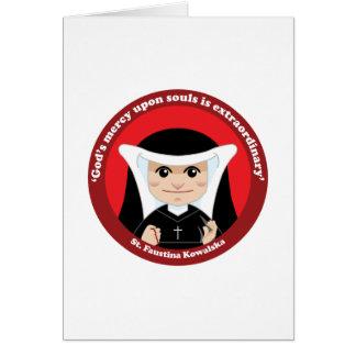St. Faustina Kowalska Greeting Card