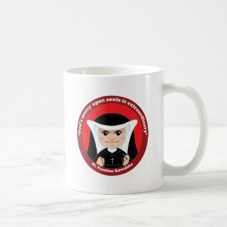 St. Faustina Kowalska Classic White Coffee Mug