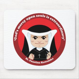 St. Faustina Kowalska Tapete De Ratones