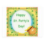 St. feliz Patty' día de s Postal