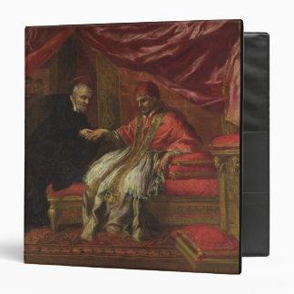 St. Filippo Neri Curing Pope Clemente VIII Binder