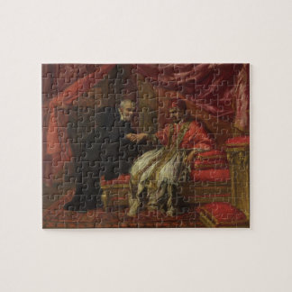 St. Filippo Neri Curing Pope Clemente VIII Jigsaw Puzzle