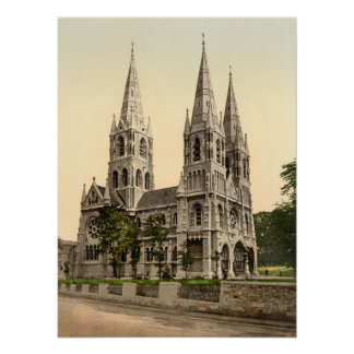 St Finbar's Cathedral, County Cork Poster