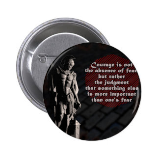 St. Florian Courage Firefighter Pinback Buttons