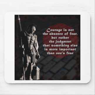 St. Florian Courage Firefighter Mouse Pad