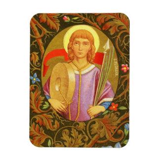 St. Florian of Lorch (PM 03) Rectangular Photo Magnet