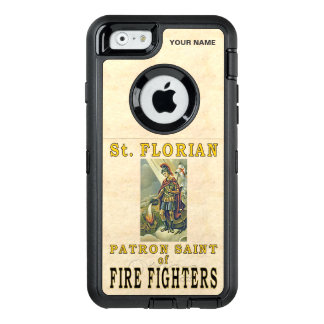 St. FLORIAN (Patron Saint of Fire Fighters) OtterBox Defender iPhone Case