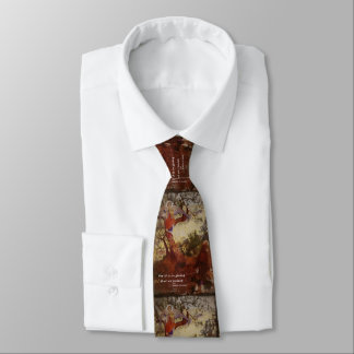 St Frances Angel and Birds Neck Tie