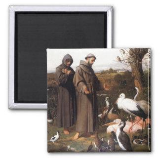St Frances & Birds Magnet