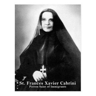 St. Frances Javier Cabrini Postal