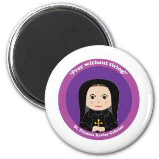 St. Frances Xavier Cabrini 2 Inch Round Magnet
