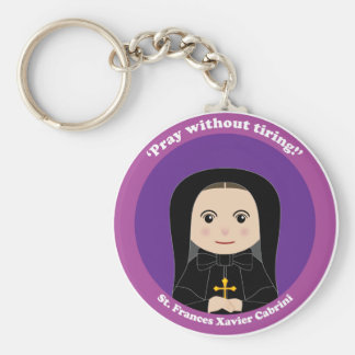 St. Frances Xavier Cabrini Keychain