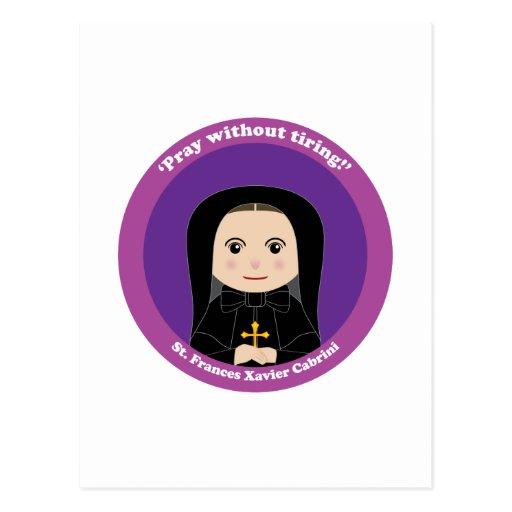 St. Frances Xavier Cabrini Post Card
