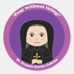 St. Frances Xavier Cabrini Sticker