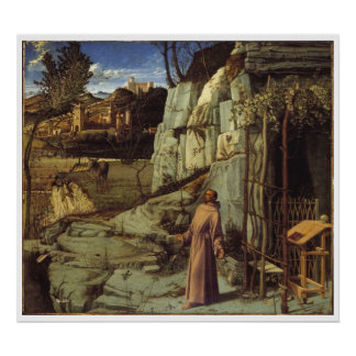 St. Francis 1480-1485 Art Poster