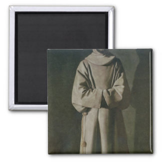 St. Francis  1645-64 2 Inch Square Magnet