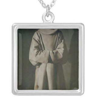 St. Francis  1645-64 Silver Plated Necklace