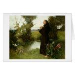 St Francis, 1898 (aceite en lona) Tarjeta De Felicitación