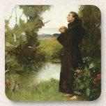 St. Francis, 1898 (oil on canvas) Coaster