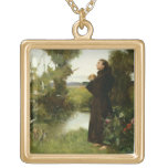 St. Francis, 1898 (oil on canvas) Jewelry