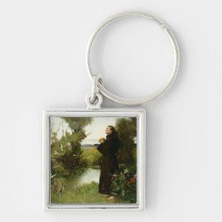 St. Francis, 1898 (oil on canvas) Keychain
