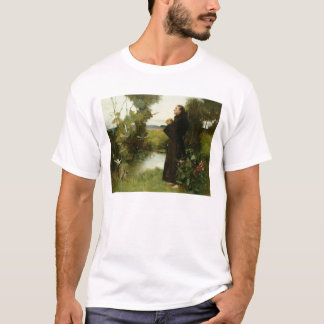 St. Francis, 1898 (oil on canvas) T-Shirt