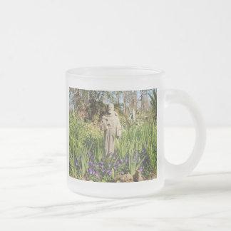 St. Francis Among Pansies Mugs