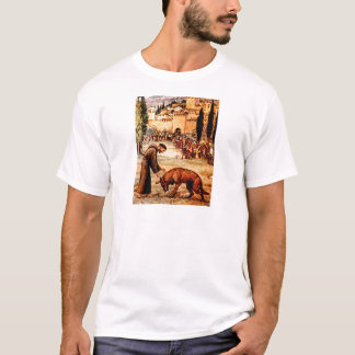 St Francis and the Wolf T-Shirt