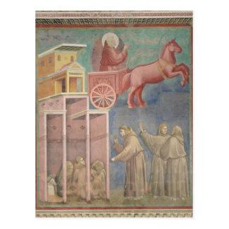St Francis aparece a sus compañeros Postales
