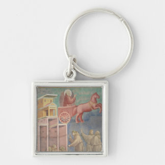 St. Francis Appears to His Companions Keychain