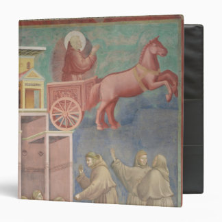 St. Francis Appears to His Companions Vinyl Binder
