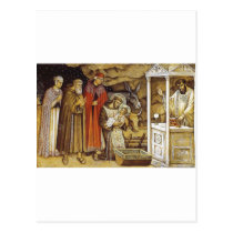 St Francis at the Nativity, mug key chain iPhone Postcard