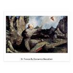 St. Francis By Domenico Beccafumi Postcard