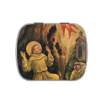 St.Francis by Gentile da Fabriano Jelly Belly Candy Tin