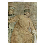 St. Francis By Giotto Di Bondone Greeting Cards