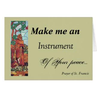 St. Francis...Card