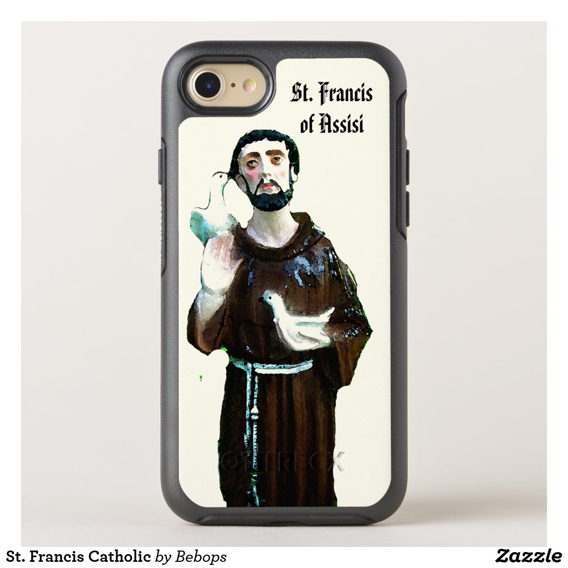 St. Francis Catholic OtterBox Symmetry iPhone 7 Case