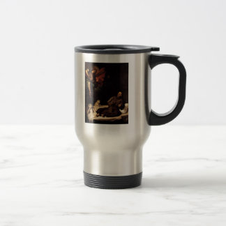 'St. Francis Comforted by an Angel' Travel Mug