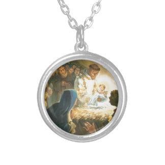 St Francis con natividad del regalo del navidad de Joyeria