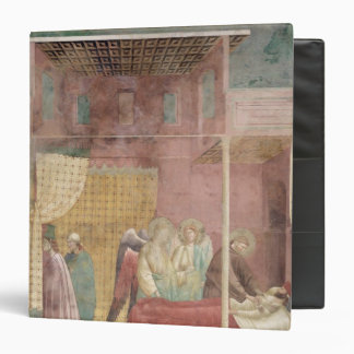 St. Francis Cures the Injured Man from Lerida 3 Ring Binder