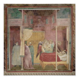 St. Francis Cures the Injured Man from Lerida Poster