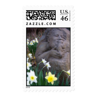 St. Francis - Customized Postage Stamp