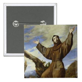 St Francis de Assisi 1642 Pin
